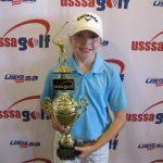 USSSA Golf Girls 9-11: Cassidy Lambert, Gretna.