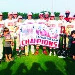 Courtesy of the Times-Herald Centerfield Baseball Academy's 14-year-old baseball team, coached by Walt Sholar along with student assistant Ty Herring, captured a championship in the Grand Slam Memorial Day Baseball Beach Blast in Panama City, Fla. It was the team's sixth championship effort since March. Prior to the trip, Centerfield's 14-under squad won USSSA Tournaments in Peachtree City (March 8), Douglasville (March 22), LaGrange (March 30) and Senoia (April 26). They recently won championship effort while going 4-1 at the Mother's Day Saturday Shoot-out on May 10 in McDonough. Team members include (alphabetically) Jacob Blair, Austin Brown, Dominic Davanzo, Parker Dean, Cayden Herring, Dylan High, Lucas Mapp, Joshua Perry, Matthew Ralich, Andrew Reamer, Elliott Schubert, Hamilton Schubert, Clint Sellers, William Wilbanks and Mekhi Winkles.